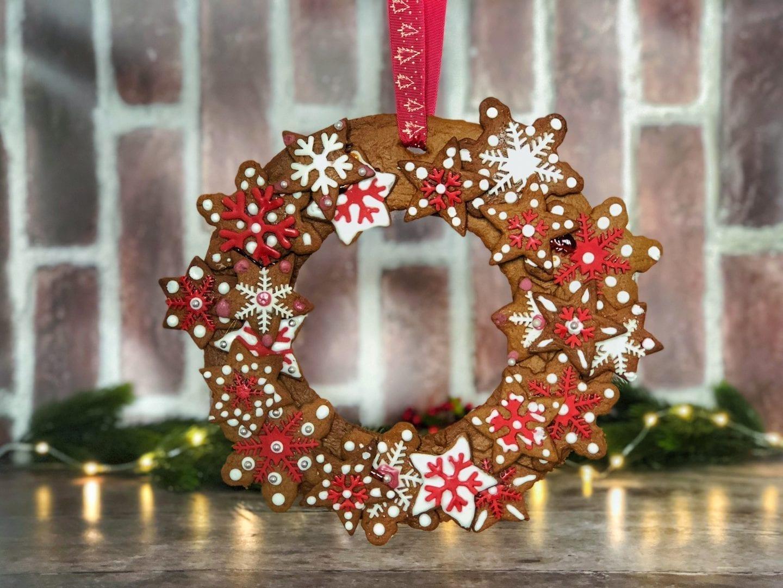 gingerbread wreath recipe