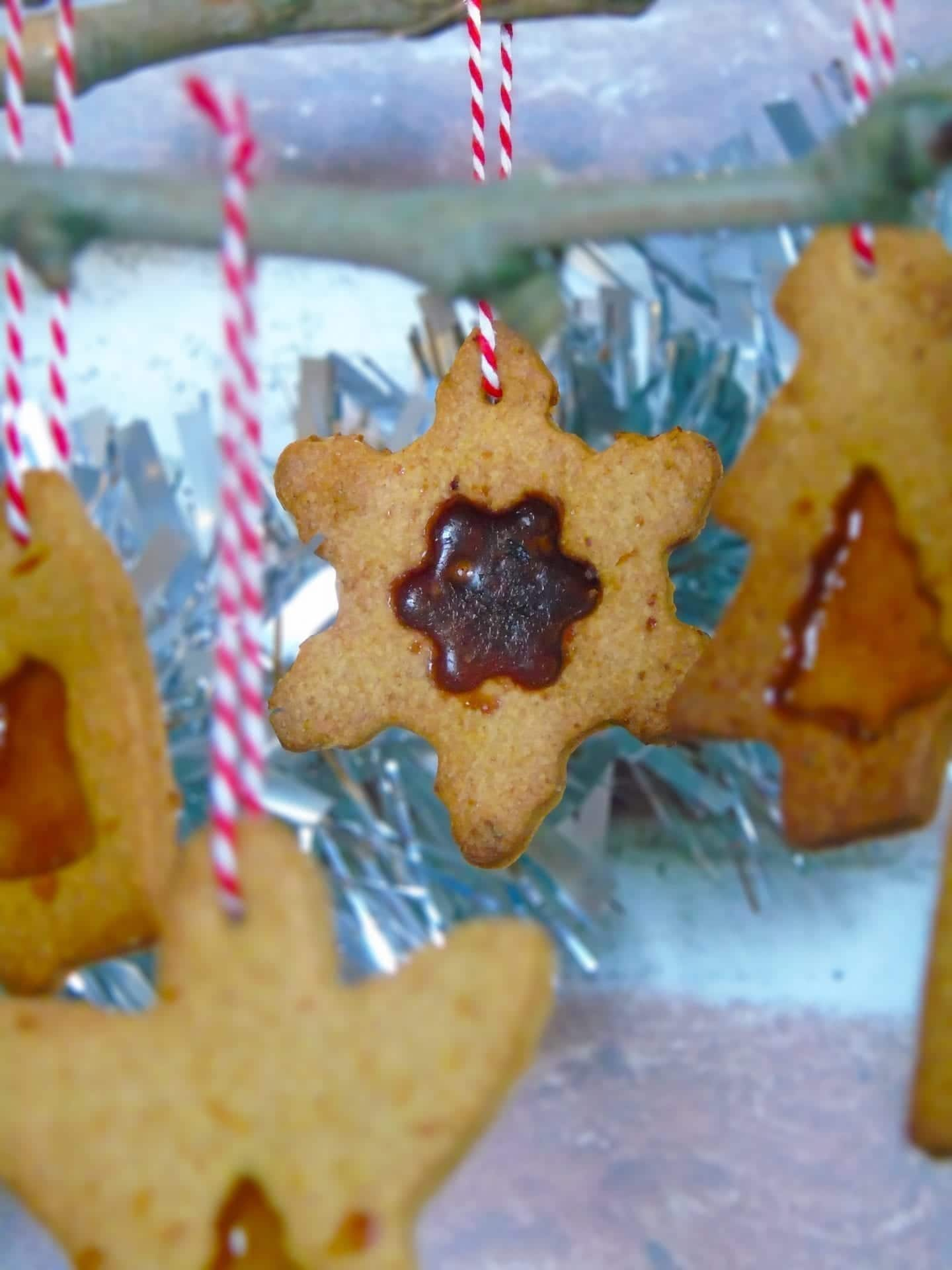 Christmas Stained Glass Cookies Recipe Bake With Corinne