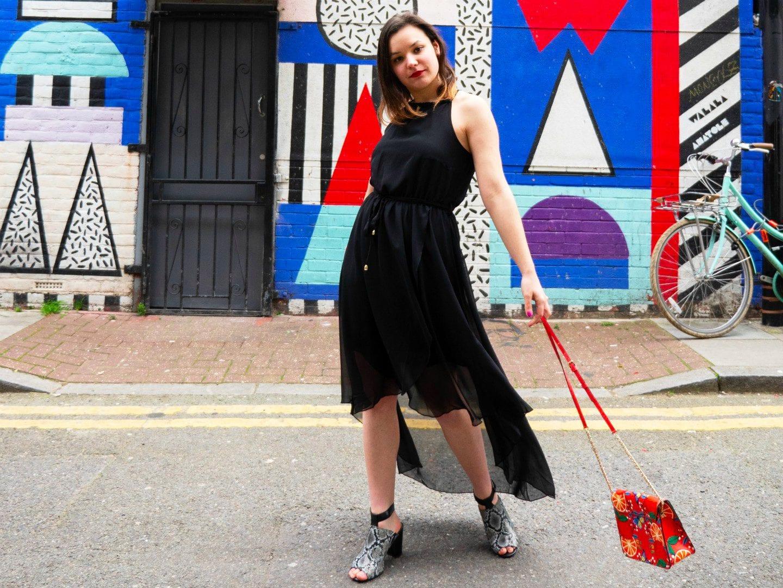 714c2712d5 The Black Midi Dress You Need In Your Wardobe - Fashion with Corinne