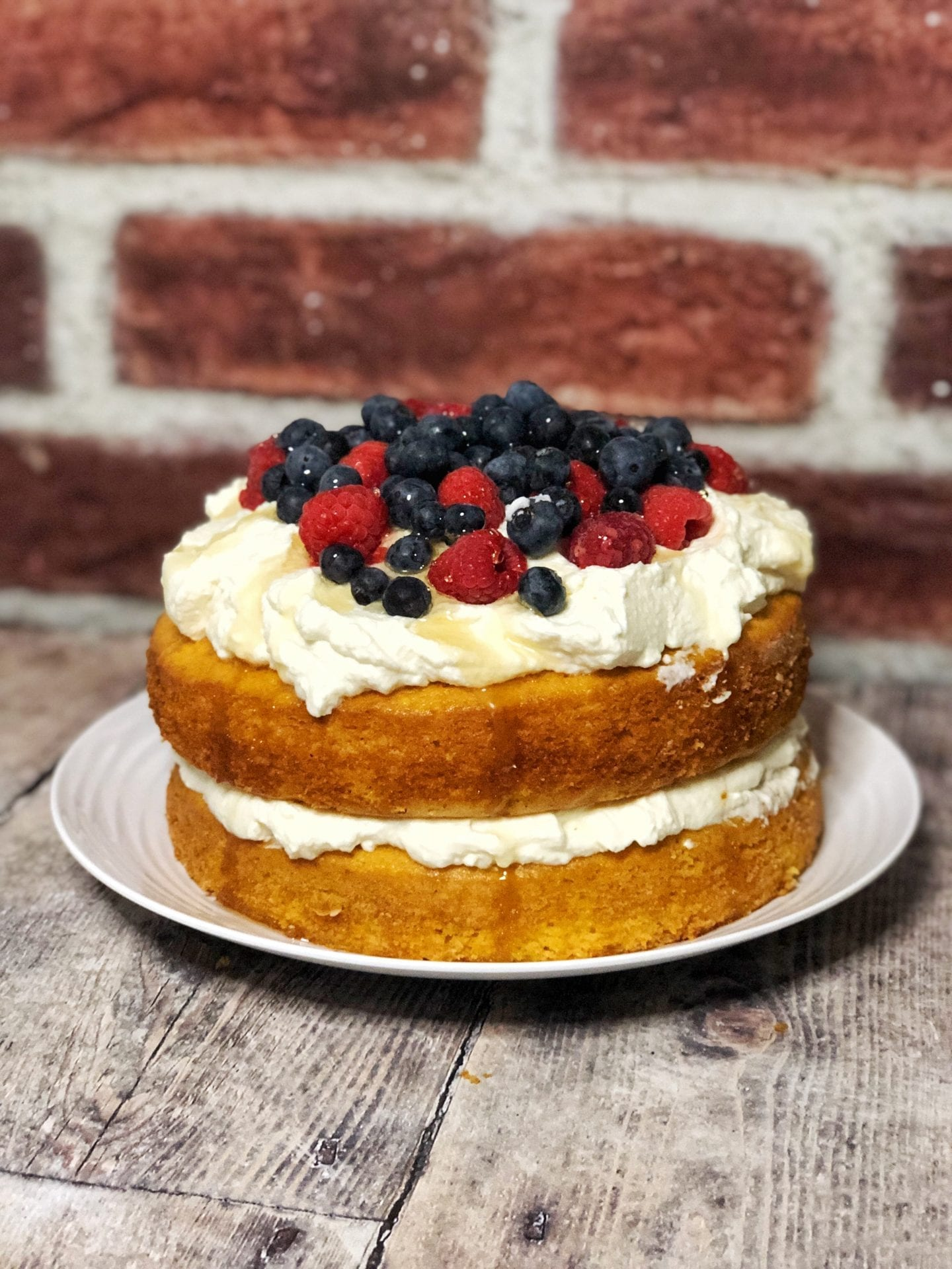 berry orange cake