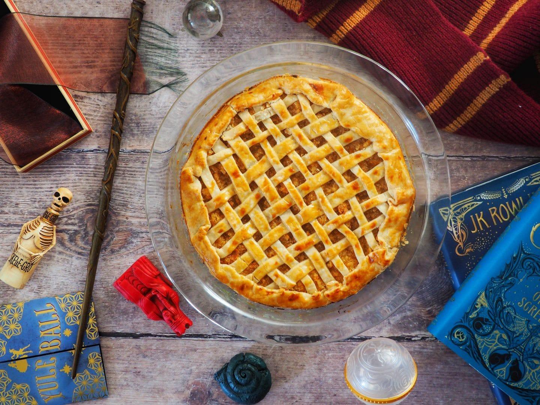 Harry Potter Inspired Treacle Tart Recipe
