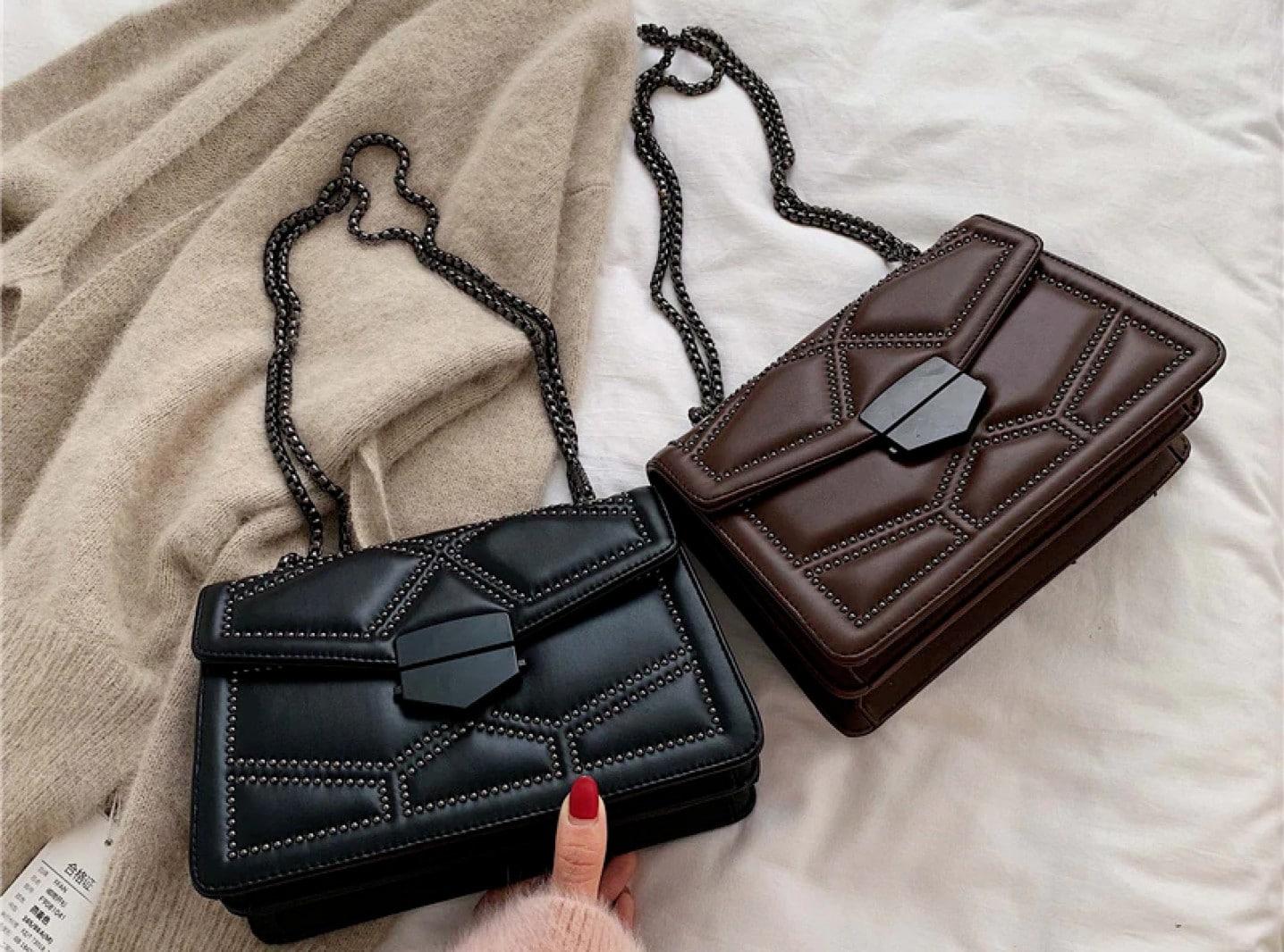 Introducing Masha Hasel, a new vegan leather handbags brand