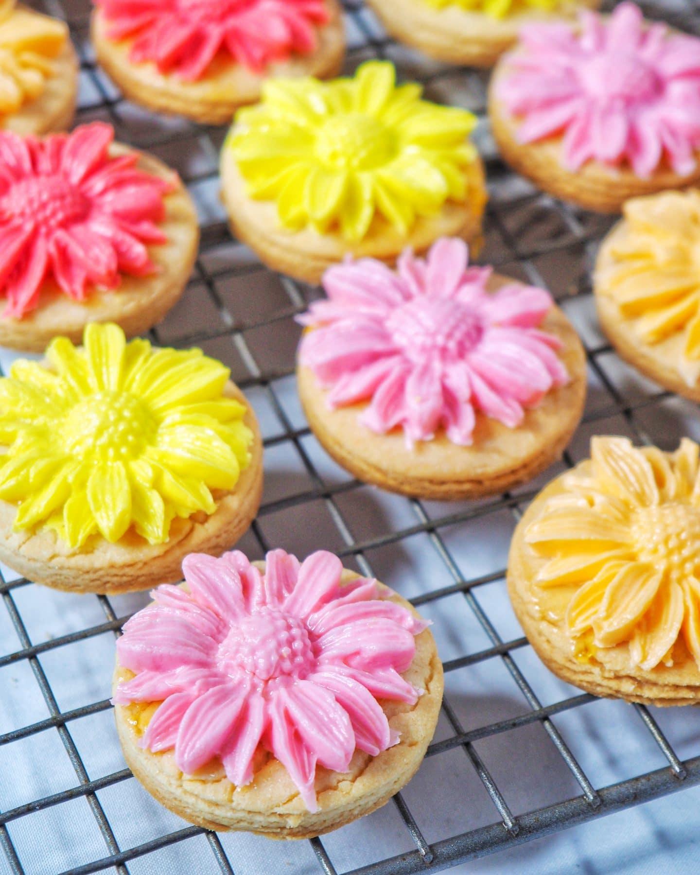 Flower Vanilla Cookie Recipe