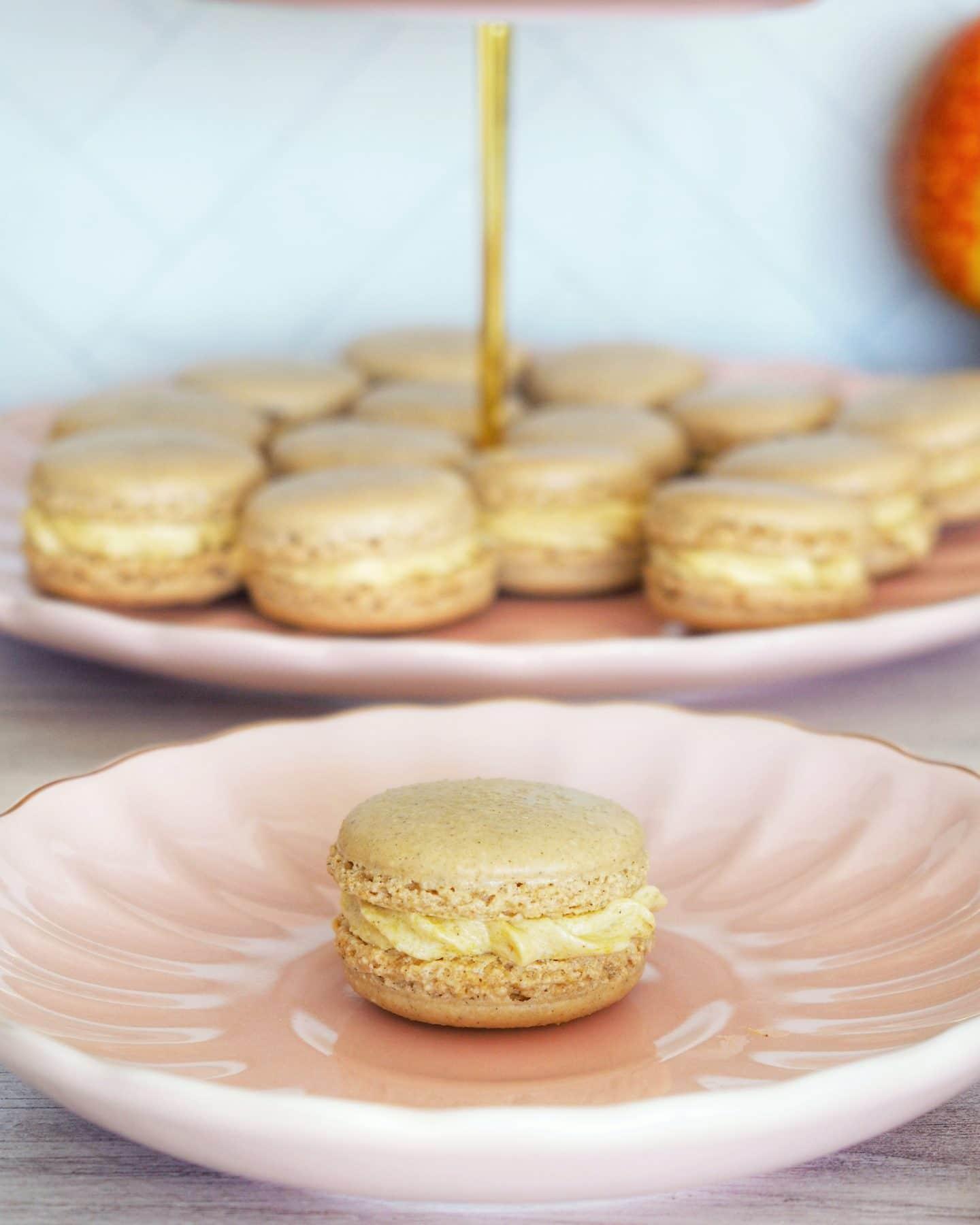 Pumpkin Spice Macarons Recipe