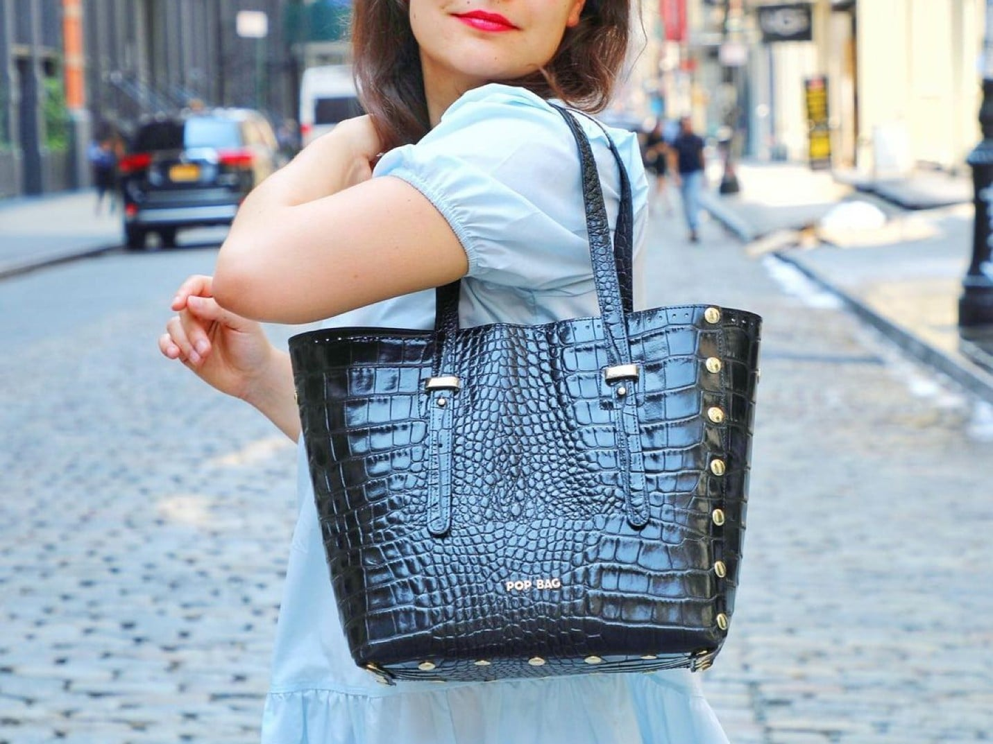 Styling One Dress With Four POP BAGs