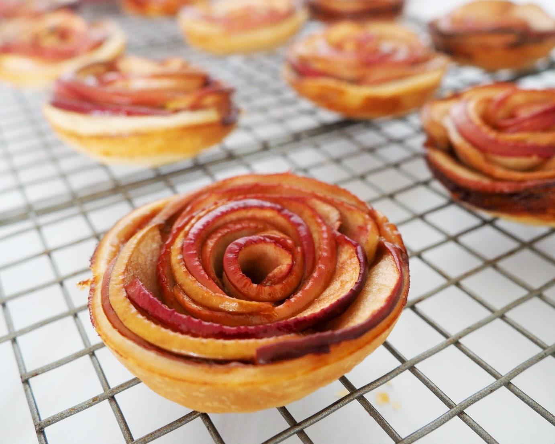 apple rose tartlets recipe